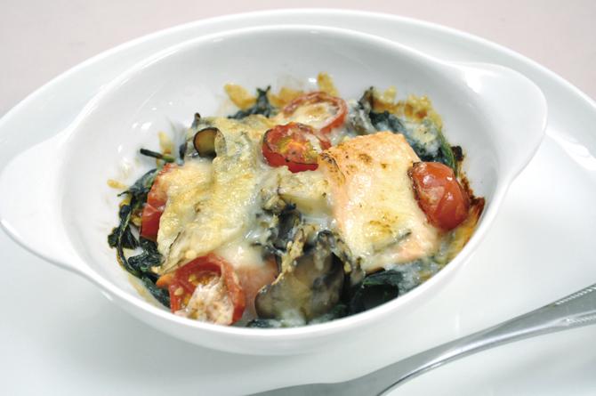 ~作ってみよう!素材の味を楽しむおかず~ 簡単!鮭のチーズ焼き