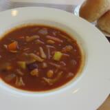 食べるスープ 豆と野菜のカレースープ